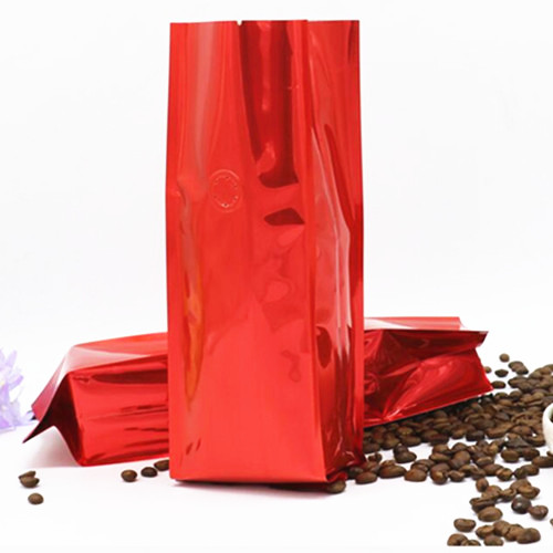 500G SIDE GUSSET FOIL COFFEE BAGS WITH VALVE